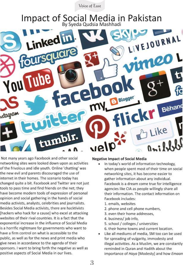 Impact of Social Media in Pakistan 1