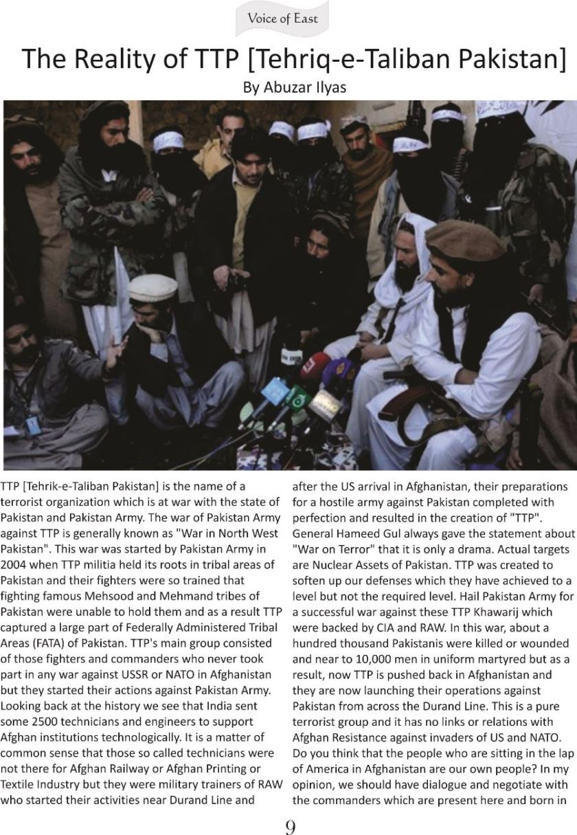 The Reality of TTP 1