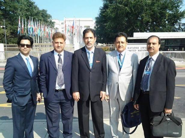 Ahmed Quraishi, Ishtiyaq Hameed, Altaf Hussain Wani, Sardar Amjad Yousaf & Syed Faiz Ali Naqshbandi