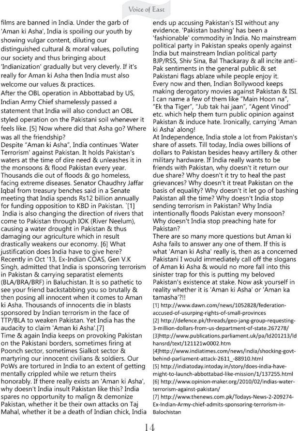 Aman Ki Asha - A critical Analysis 3