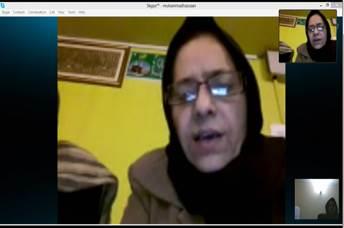 Zomorroda Habin speaks from Srinagar