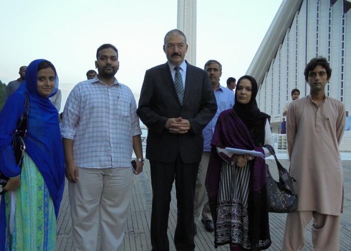 YFK's Representatives Meeting Turkish Ambassador to Pakistan.