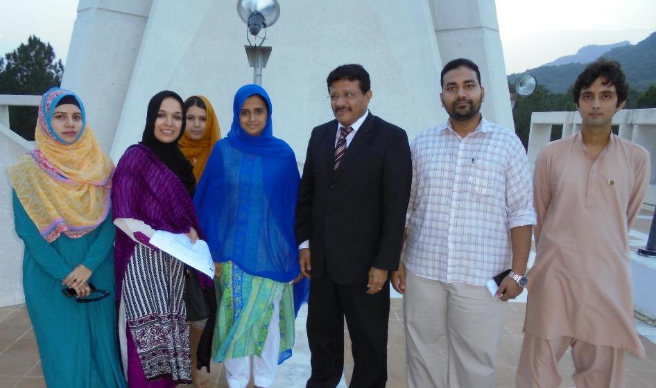 YFK's Representatives Meeting Yemeni Ambassador to Pakistan