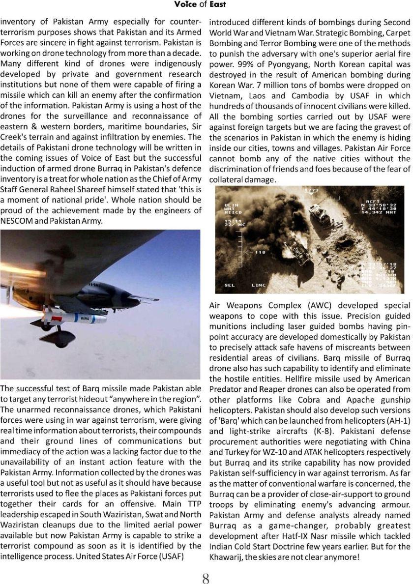 Burraq s role in war against khawarij b