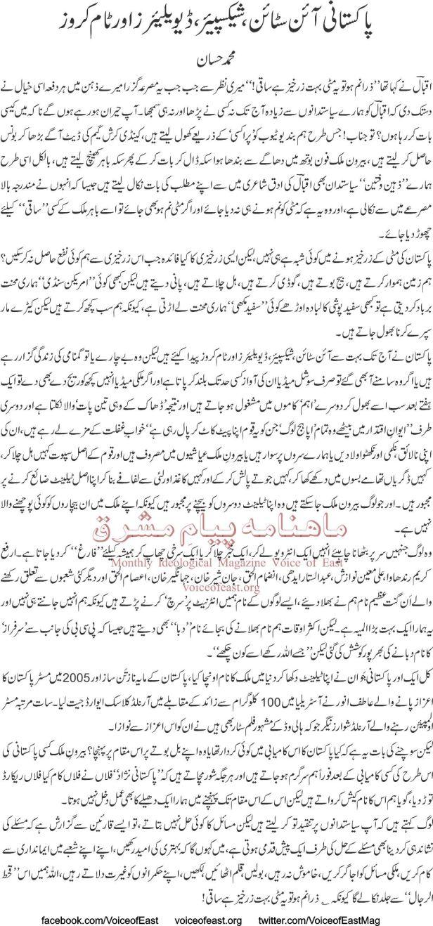 Pakistani Einstein, Shakespeare, De-Villiers Aur Tom Cruise