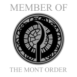 Mont Order client badge dark