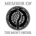 Mont Order client badge dark