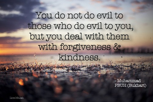kindness and forgiveness