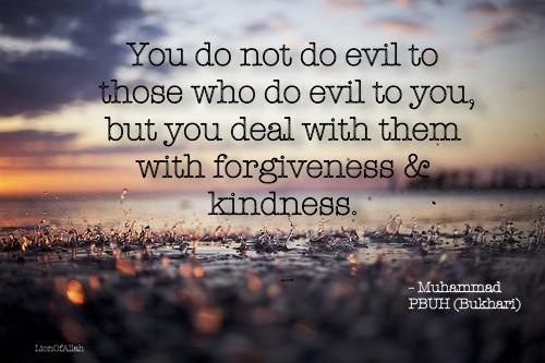 kindness and forgiveness