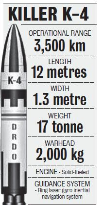 K-4 Missile