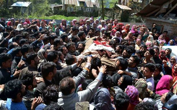continued killings in Kashmir