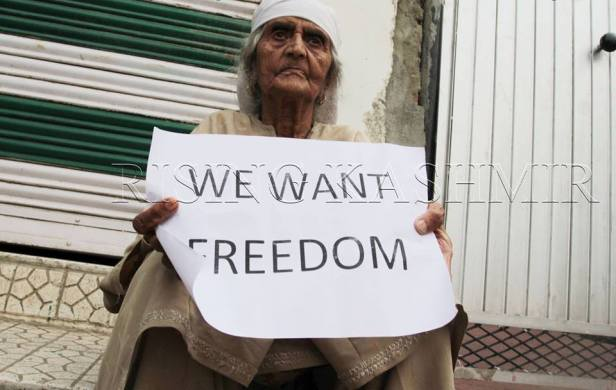 Kashmir wants freedom