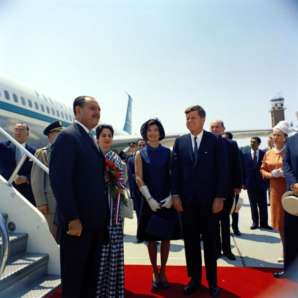 john-f-kennedy-receiving-ayub-khan